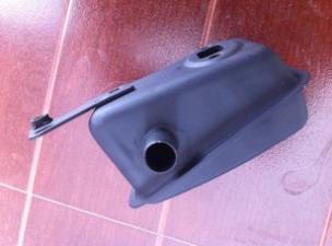 割草机消声器36 加工生产
