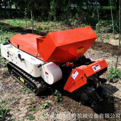 长年供应履带式旋耕机自走式果园开沟施肥机多缸座驾式履带拖拉机