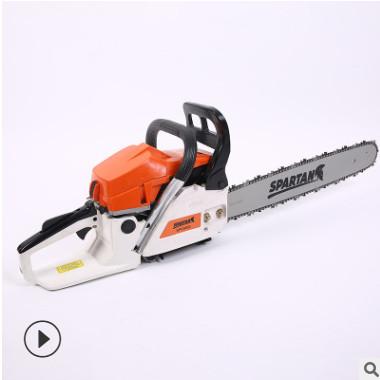 可贴牌生产油锯伐木锯大功率汽油锯小型家用砍树神器多功能手链锯