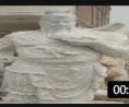 石雕关公像大理石汉白玉武财神关羽关二爷人物像佛像园林广场摆件 (166播放)