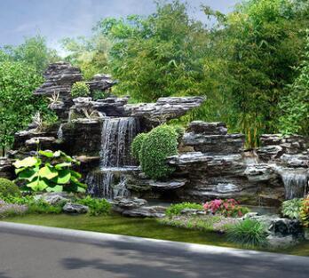 专业供应 园林假山绿化设计