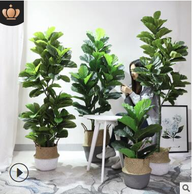 仿真植物仿真树仿真绿植室内客厅假花盆栽批发植物盆栽