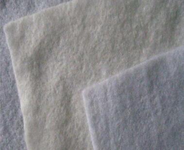 厂家直销 土工布300g 防渗滤水无纺布公路养护园林绿化白色土工布