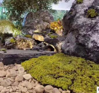 黑山石 适用于园林
